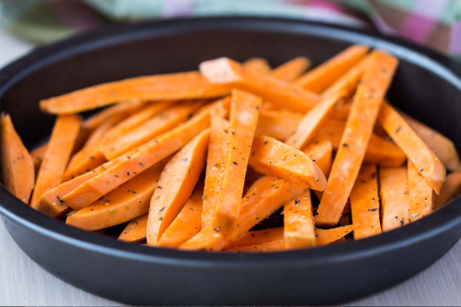 Sweet-potatoes-in-a-pan